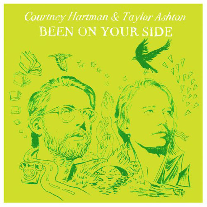 Courtney Hartman & Taylor Ashton Been On Your Side Vinyl LP New 2018