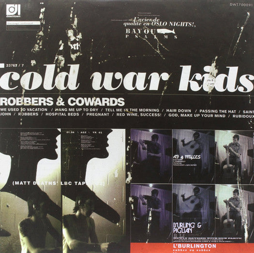 COLD WAR KIDS ROBBERS & COWARDS LP VINYL NEW (US) 33RPM