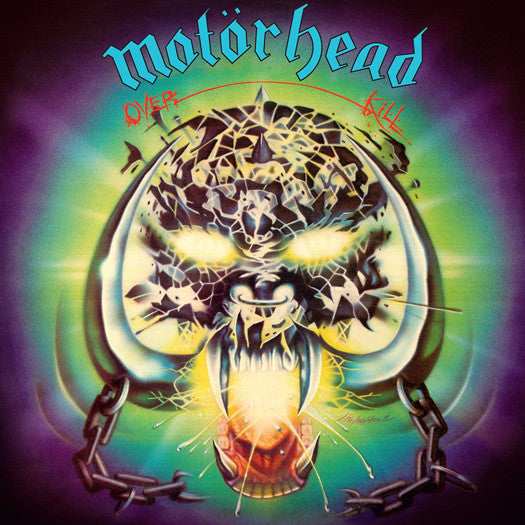 MOTORHEAD OVERKILL LP VINYL NEW (US) 33RPM