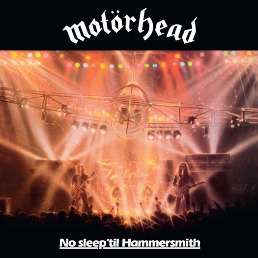 MOTORHEAD NO SLEEP TIL HAMMERSMITH LP VINYL NEW (US) 33RPM