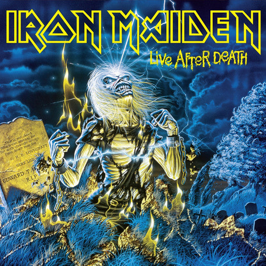 IRON MAIDEN LIVE AFTER DEATH LP VINYL NEW (US) 33RPM