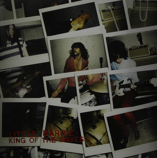 LITTLE BARRIE KING OF THE WAVES LP VINYL NEW (US) 33RPM