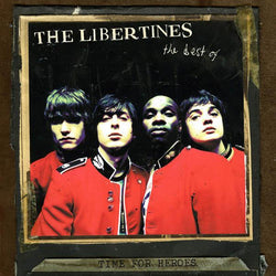 Libertines Time For Heroes (Best of) Vinyl LP (Red Vinyl Edition) Pre Order 13/07/18