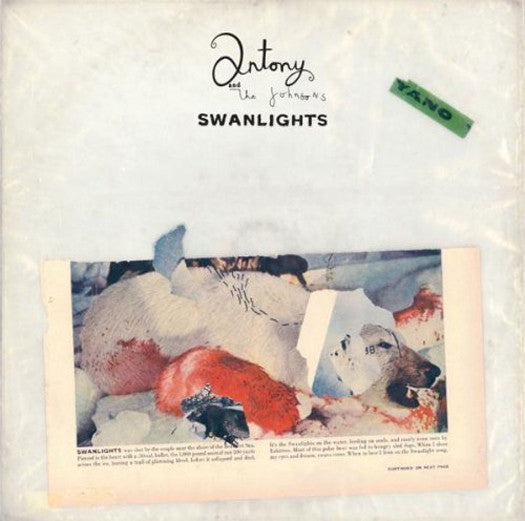 ANTONY AND THE JOHNSONS SWANLIGHTS LP VINYL 33RPM NEW 2010