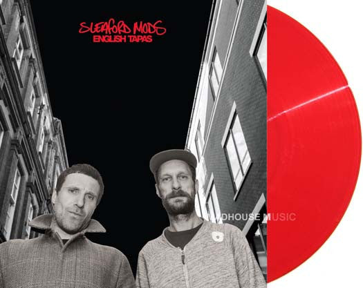 SLEAFORD MODS English Tapas INDIES LP Vinyl NEW Limited RED