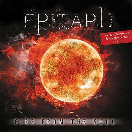 EPITAPH Fire From The Soul Black LP Vinyl & CD NEW 2017