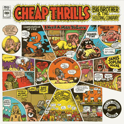BIG BROTHER & HOLDING COMPANY CHEAP THRILLS (MONO) LP VINYL NEW (US) 33RPM