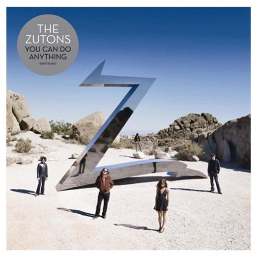 ZUTONS YOU CAN DO ANYTHING 2008 LP VINYL NEW 33RPM