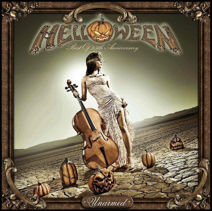 HELLOWEEN UNARMED BEST OF LP VINYL 33RPM 25TH ANNIVERSARY NEW