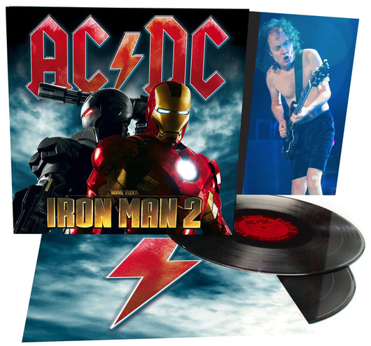 AC/DC IRON MAN DOUBLE LP VINYL NEW 2010 33RPM