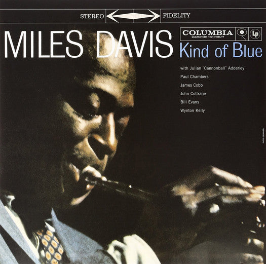 MILES DAVIS KIND OF BLUE LP VINYL NEW (US)