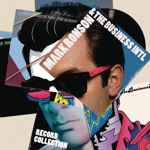 MARK RONSON AND THE BUSINESS IN RECORD COLLECTION LP VINYL 33RPM NEW