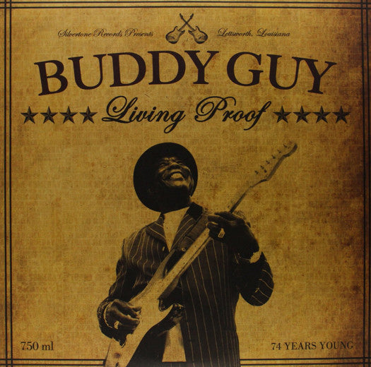 BUDDY GUY LIVING PROOF LP VINYL NEW (US) 33RPM