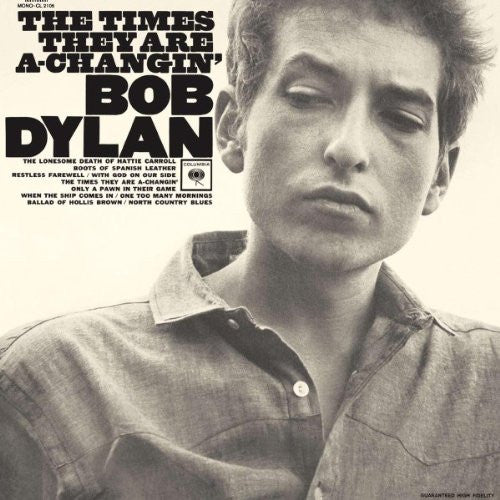 BOB DYLAN THE TIMES THEY ARE A TO CHANGIN LP VINYL 33RPM NEW