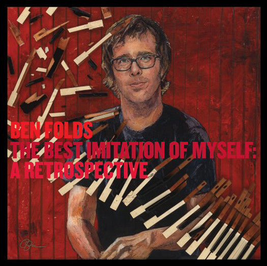 BEN FOLDS BEST IMITATION OF MYSELF A RETROSPECTIVE LP VINYL NEW (US) 33RPM