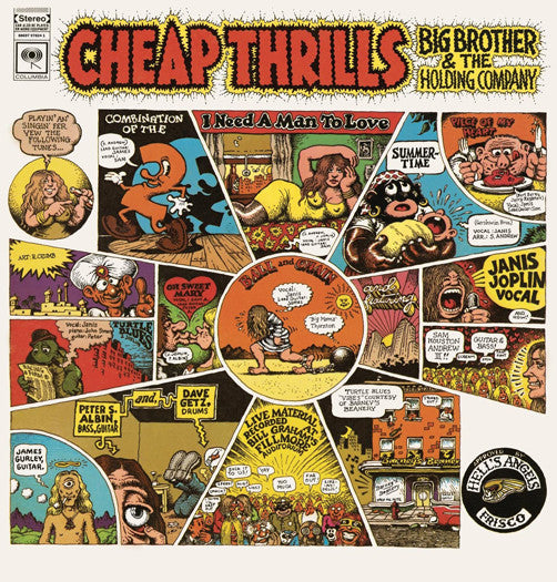 BIG BROTHER & HOLDING COMPANY CHEAP THRILLS LP VINYL NEW (US) 33RPM