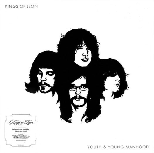 KINGS OF LEON YOUTH & YOUNG MANHOOD LP VINYL NEW (US) 33RPM REMASTERED