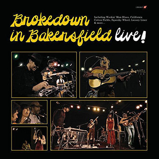 BROKEDOWN IN BAKERSFIELD LIVE LP VINYL NEW (US) 33RPM