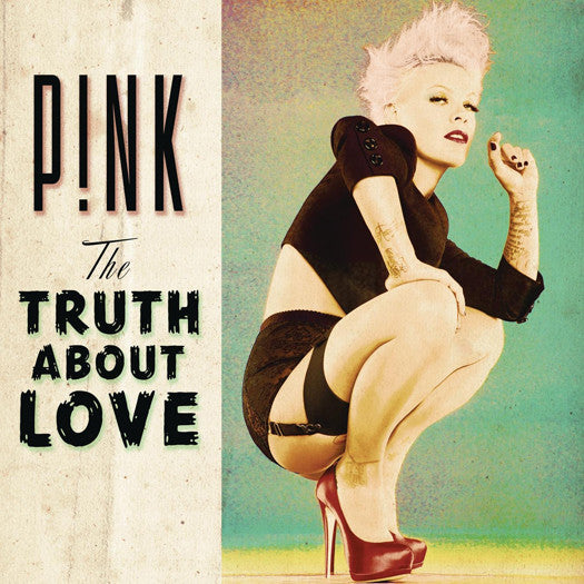 PINK TRUTH ABOUT LOVE LP VINYL NEW (US) 33RPM
