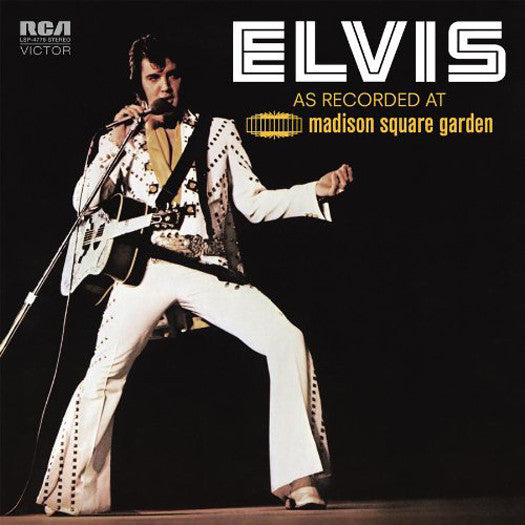 ELVIS PRESLEY AS RECORDED AT MADISON SQUARE GARDEN LP VINYL NEW (US) 33RPM