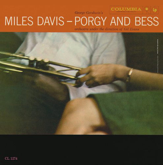 MILES DAVIS PORGY AND BESS LP VINYL NEW (US) 33RPM