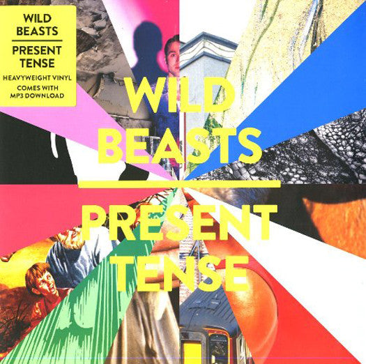WILD BEASTS PRESENT TENSE LP VINYL NEW 2014 33RPM