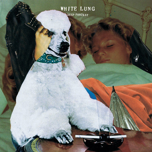 WHITE LUNG DEEP FANTASY LP VINYL NEW 33RPM 2014