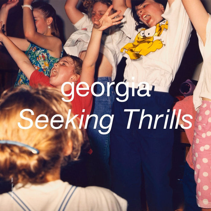 Georgia Seeking Thrills Vinyl LP Neon Orange Colour LRS 2020