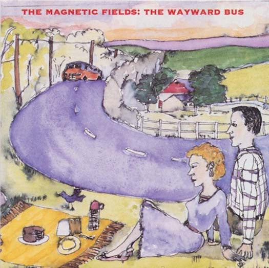 MAGNETIC FIELDS Wayward Bus 2LP Vinyl NEW 2017