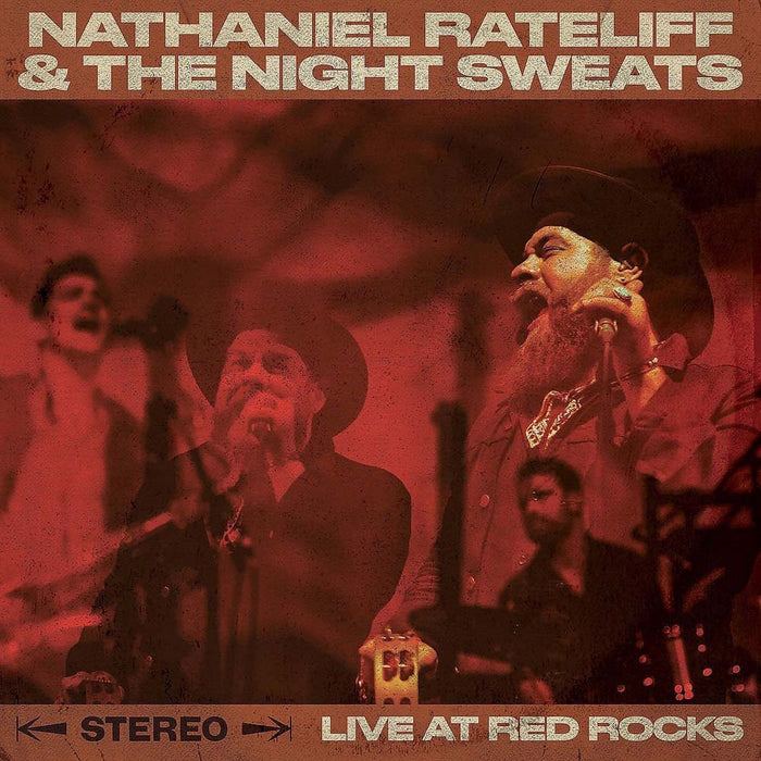 N RATECLIFF & THE NIGHTSWEATS At Red Rocks 2LP Vinyl NEW 2017