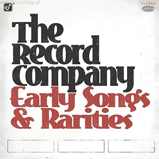 The Record Company - Early Songs & Rarities Vinyl LP New Pre Order 14/02/20