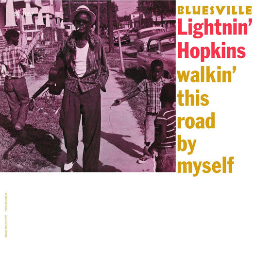 LIGHTNIN HOPKINS WALKIN THIS ROAD BY MYSELF LP VINYL NEW (US) 33RPM