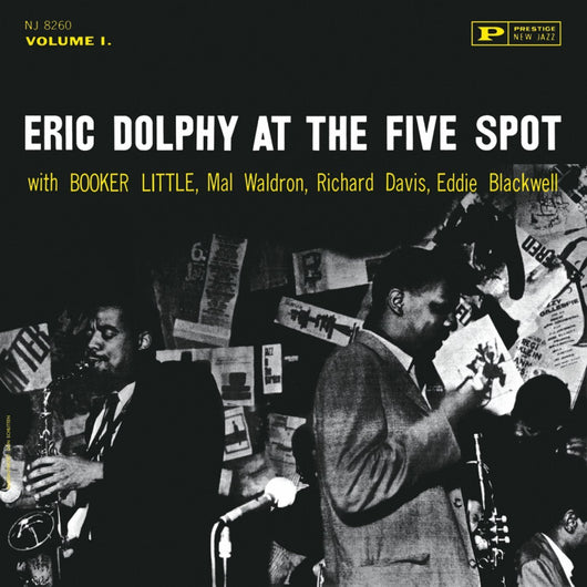 ERIC DOLPHY At The Five Spot LP Vinyl NEW 2014