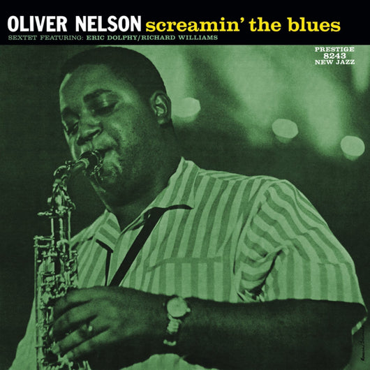 OLIVER NELSON SEXTET SCREAMIN THE BLUES LP VINYL 33RPM NEW