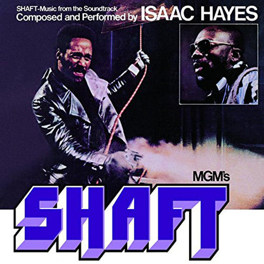 ISAAC HAYES SHAFT SOUNDTRACK LP VINYL 33RPM NEW 2014 LTD ED