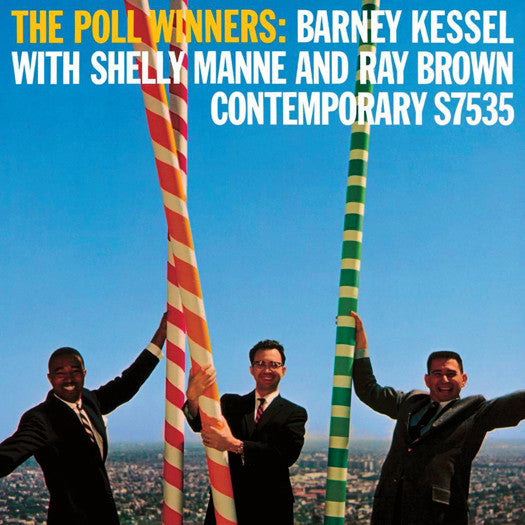 SHELLY MANNE BARNEY KESSEL RAY BROWN THE POLL WINNERS LP VINYL NEW 33RPM