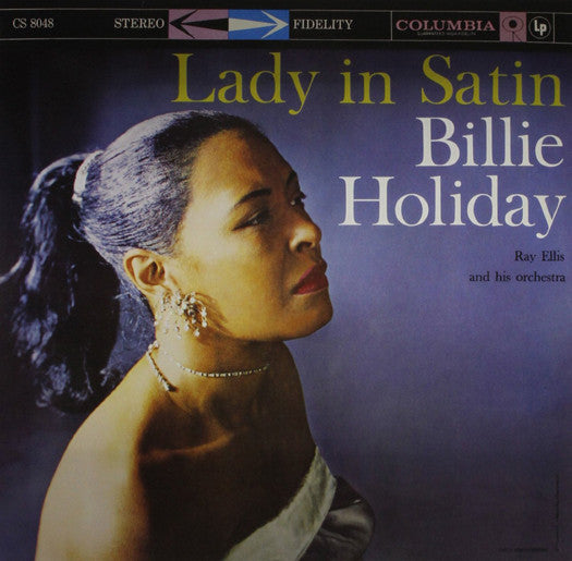 BILLIE HOLIDAY LADY IN SATIN LP VINYL NEW (US) 33RPM