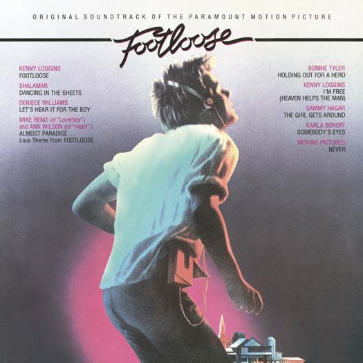 FOOTLOOSE O.S.T. LP VINYL NEW 33RPM