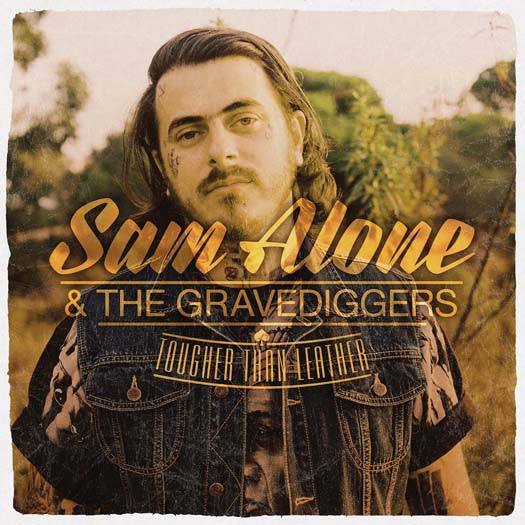 SAM ALONE & GRAVE-DIGGERS TOUGHER THAN LEATHER LP VINYL NEW