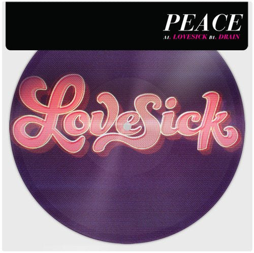 PEACE LOVESICK 7INCH VINYL SINGLE 2013 NEW