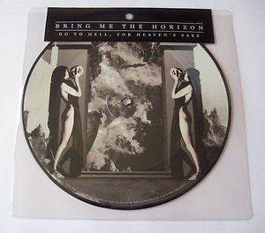 BRING ME THE HORIZON GO TO HELL FOR HEAVENS SAKE 7 INCH VINYL SINGLE  NEW
