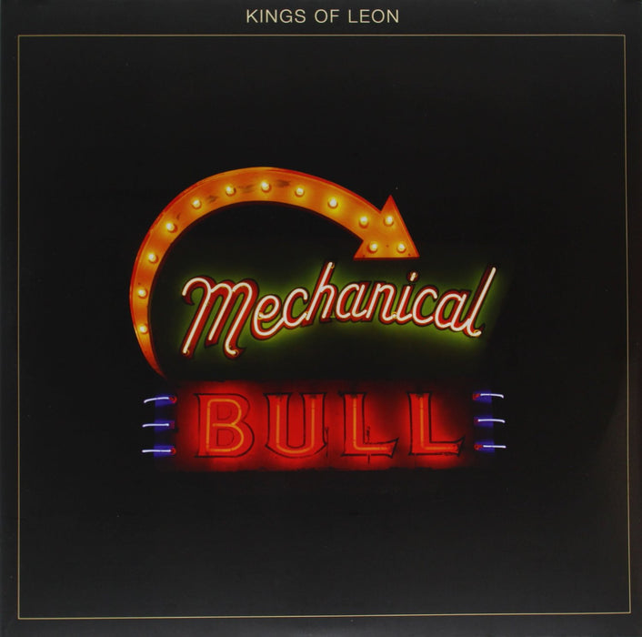 KINGS OF LEON MECHANICAL BULL LP VINYL 33RPM NEW