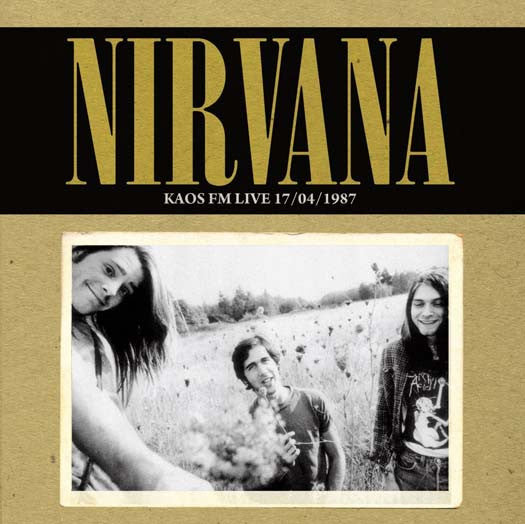 NIRVANA KAOS FM LIVE 17/04/1987 LP VINYL NEW 33RPM