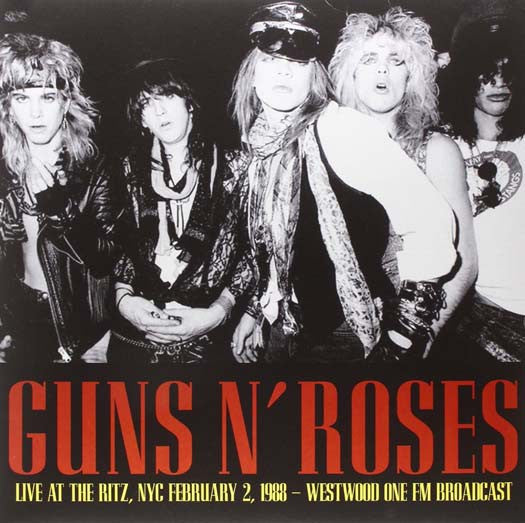 GUNS 'N' ROSES LIVE AT THE RITZ: NYC FEBRUARY 2 1988 LP VINYL NEW 33RPM
