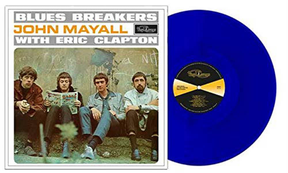 John Mayall & Eric Clapton Blues Breakers Blue Vinyl LP New 2018