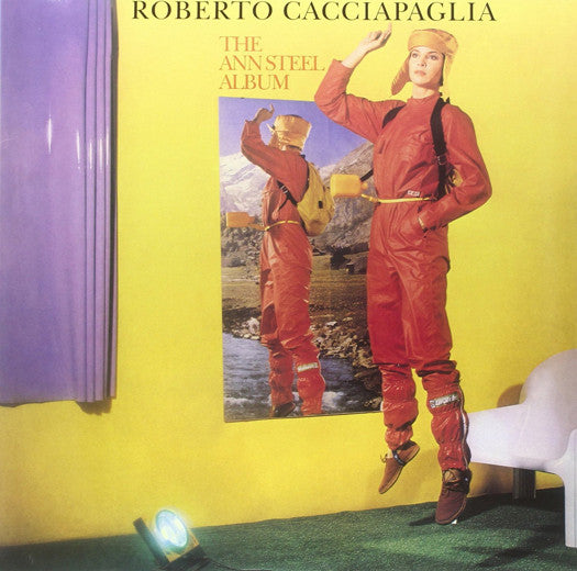 ROBERTO CACCIAPAGLIA THE ANN STEEL LP VINYL NEW 2014 33RPM