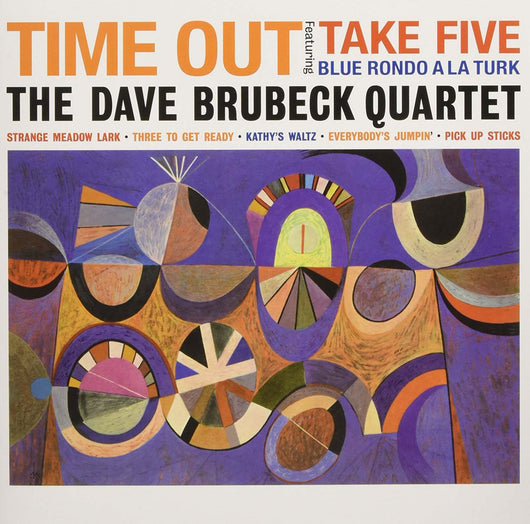 DAVE BRUBECK QUARTET Time Out LP Vinyl NEU 2017