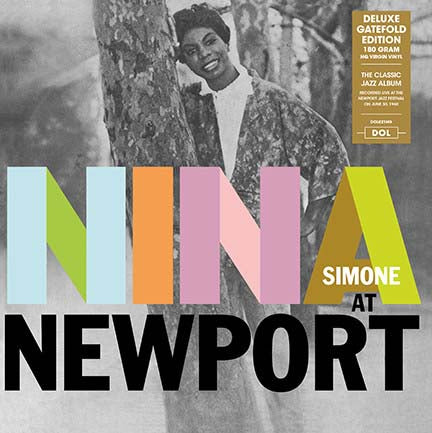NINA SIMONE Nina At Newport LP Vinyl NEW 2017