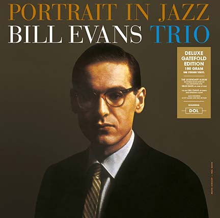 BILL EVANS TRIO Portrait In Jazz LP Vinyl NEW 2017
