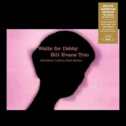 BILL EVANS TRIO Waltz For Debby LP Vinyl NEW 2015